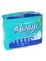 Always Ultra Thin Pad Junior (6 Pcs)