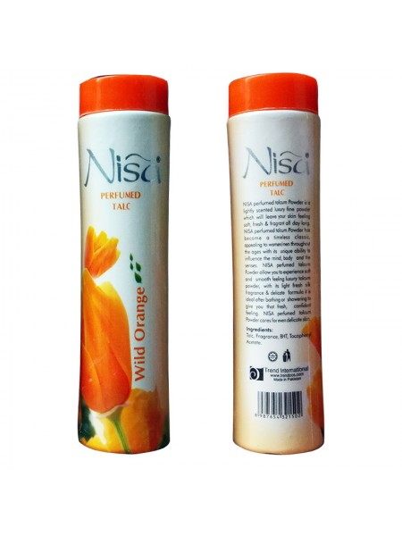 Nisa Talcum Orange Powder