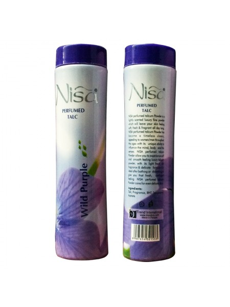 Nisa Talcum Wild Purple Powder