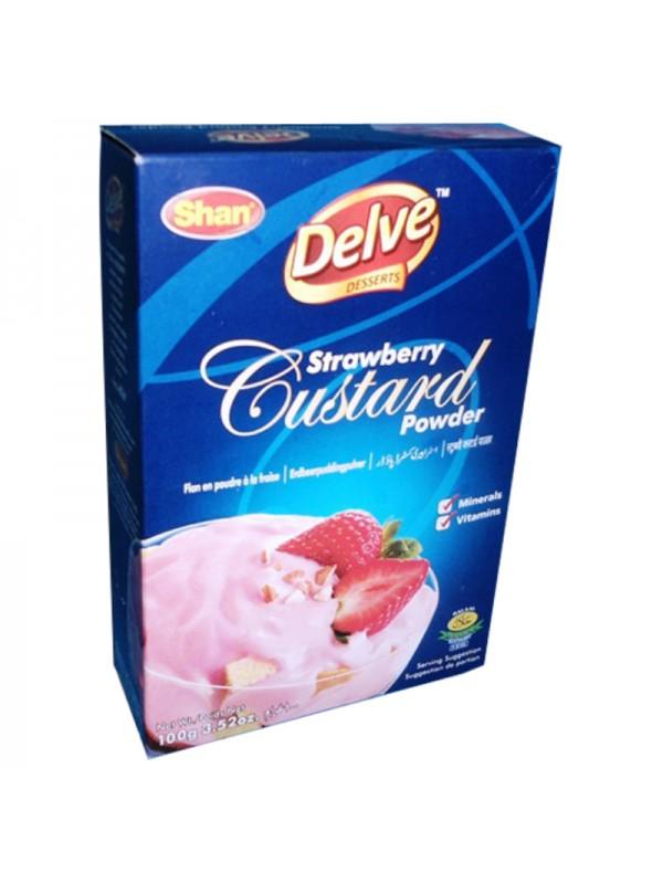 Shan Strawberry Custard Powder (100 Gm)