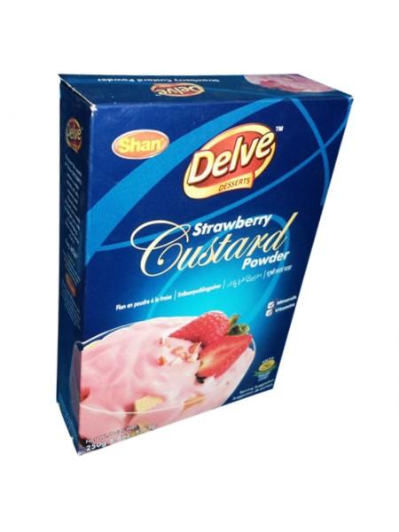Shan Strawberry Custard Powder (250 Gm)